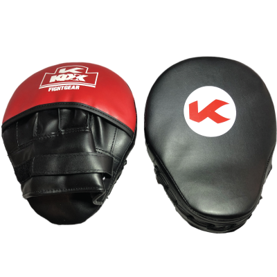 Focus-Mits-Artifical-leather---black-and-Red copy