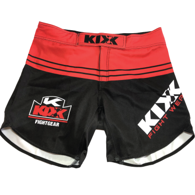 MMA-Shorts---Red copy